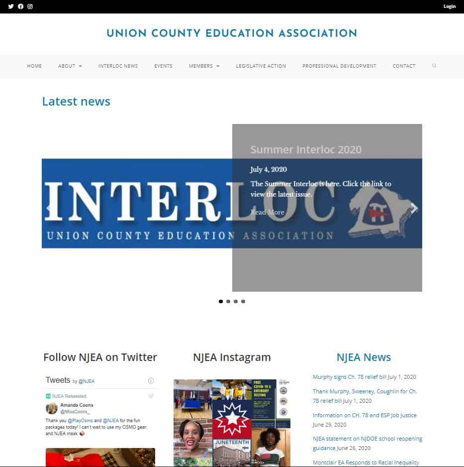 UNION COUNTY EDUCATION ASSOCIATION